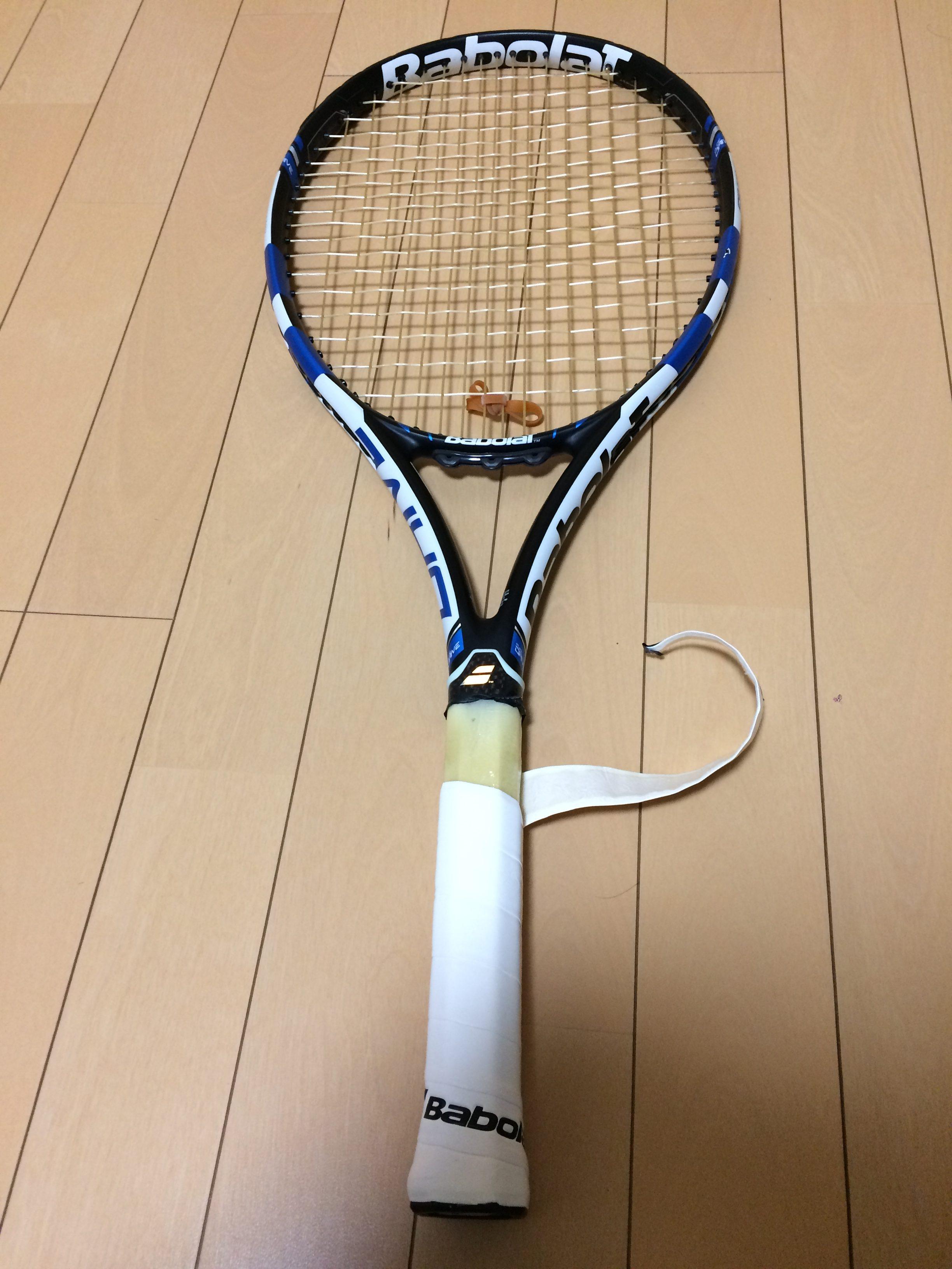 巻き テニス 方 グリップ